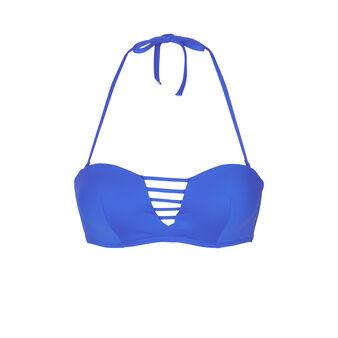 Tahitiz dark blue bikini top blue.