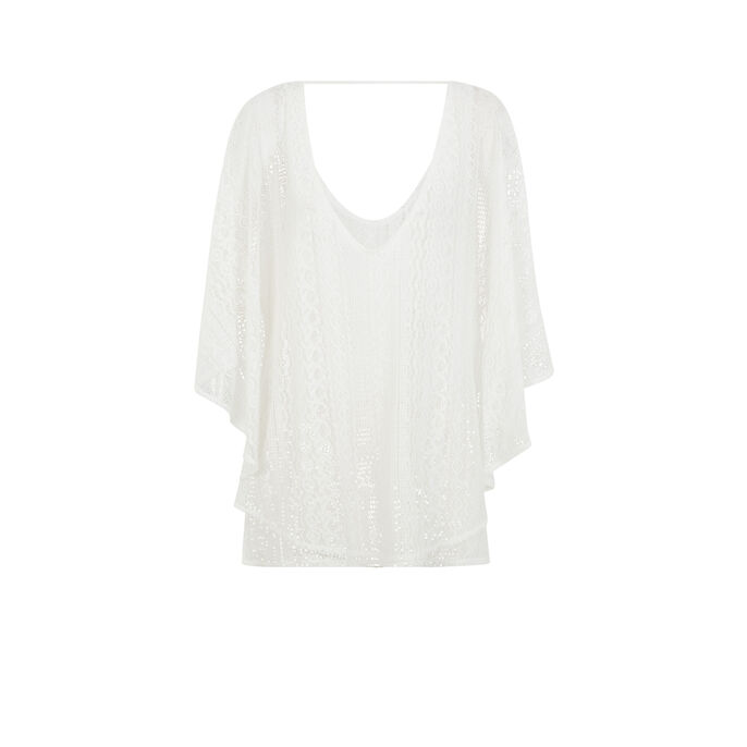 Belglamiz off-white tunic white.