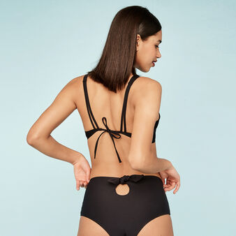 Wiriz black bikini bottoms black.