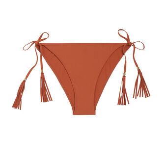 Doussiz camel-coloured bikini bottom brown.