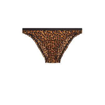 Culotte léopard panacottiz brown.