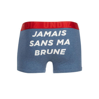 Yingiz blue boxer shorts blue.