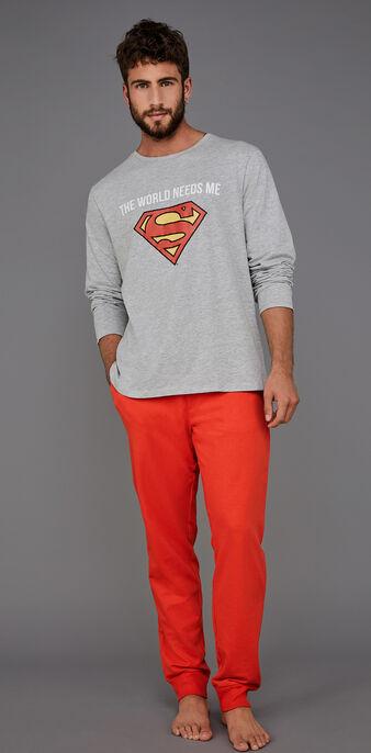 Suprakitiz men's grey pyjamas set grey.