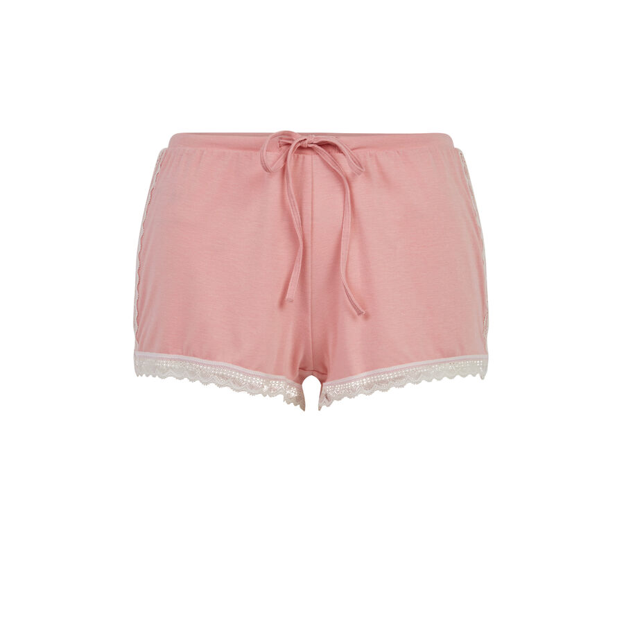 Sidevitamiz pale pink shorts;