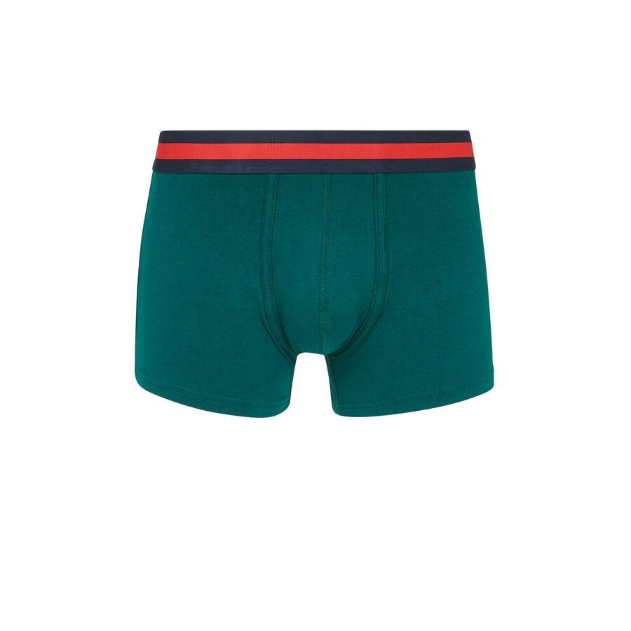 Oreliz green boxers;