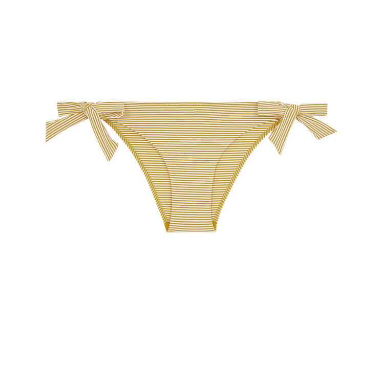 Islarayiz mustard yellow briefs;