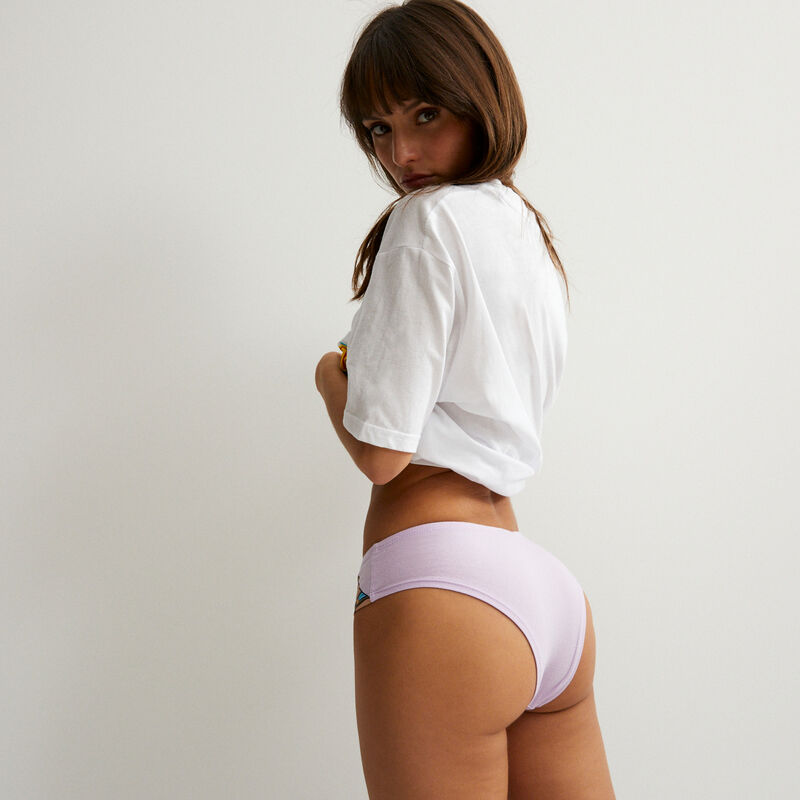 Hercules top and knickers set - white;
