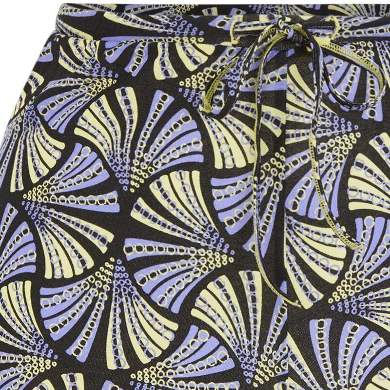Print shorts - yellow;