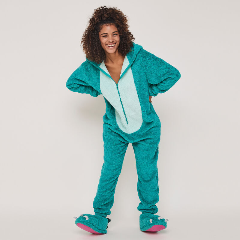Griffiz bright fleece claw slippers;