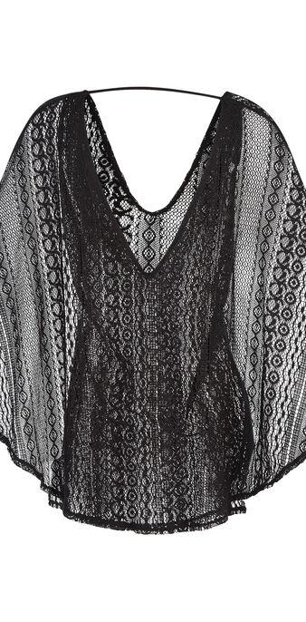 Glamouriz black tunic black.