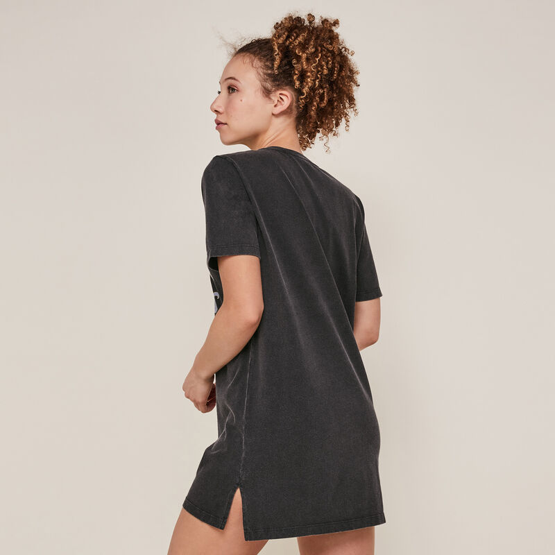 Mulan short-sleeved tunic - black;