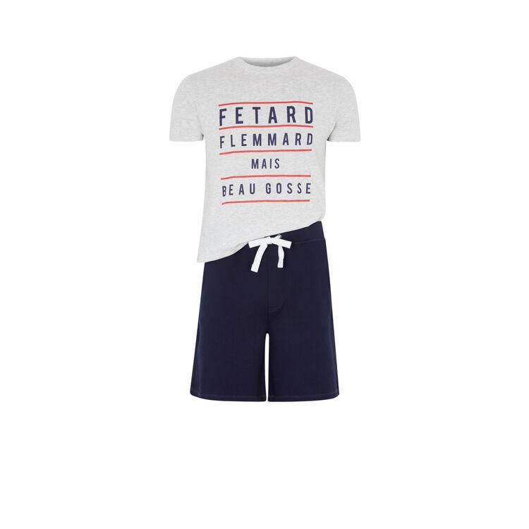 Раздельная пижама с надписью fletardiz;