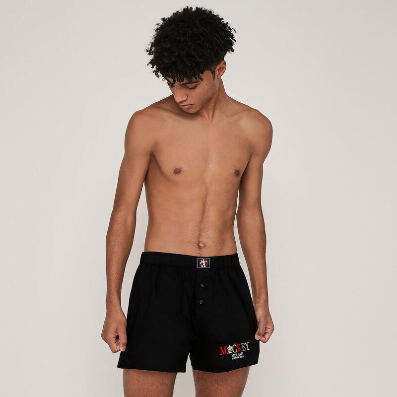 Mickey cotton boxers - black;