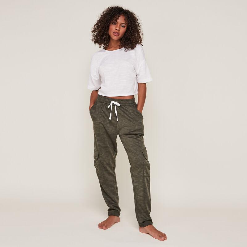 stitchjoggiz plain jersey pants;