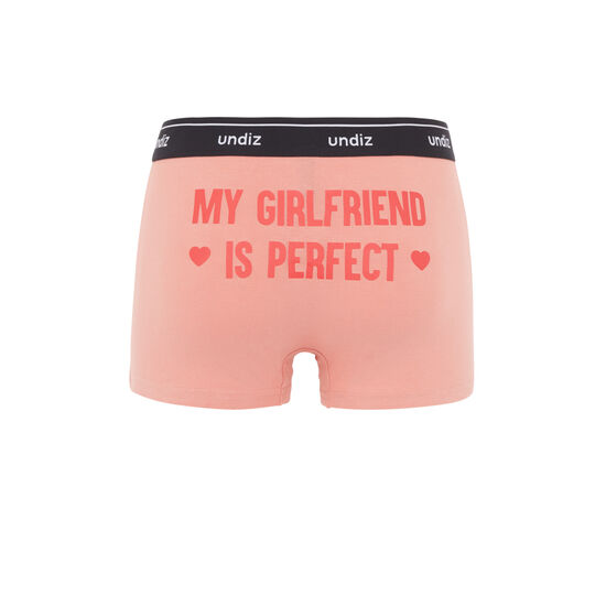 Girlfriendiz antique pink boxer brief;
