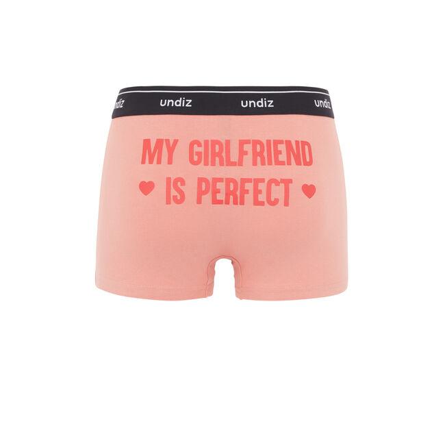 Girlfriendiz antique pink boxer brief;