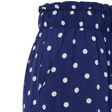 Panpoiz blue trousers blue.
