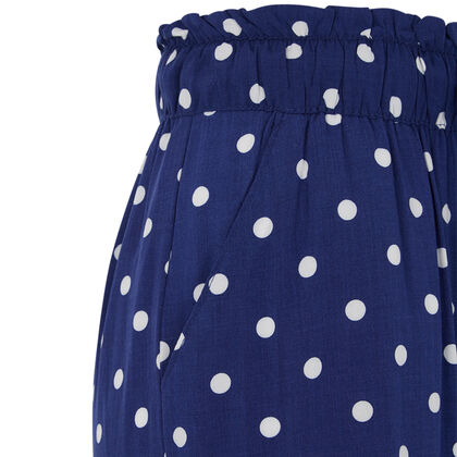 Синие брюки panpoiz blue.
