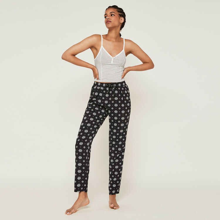 Spodnie z motywem arabeski arabeskiz;