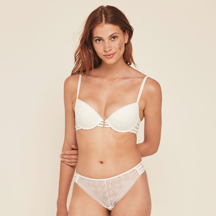 Triasiz lace push-up bra;