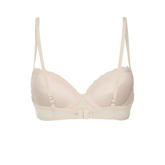 Anaiz light pink push-up bra pink.