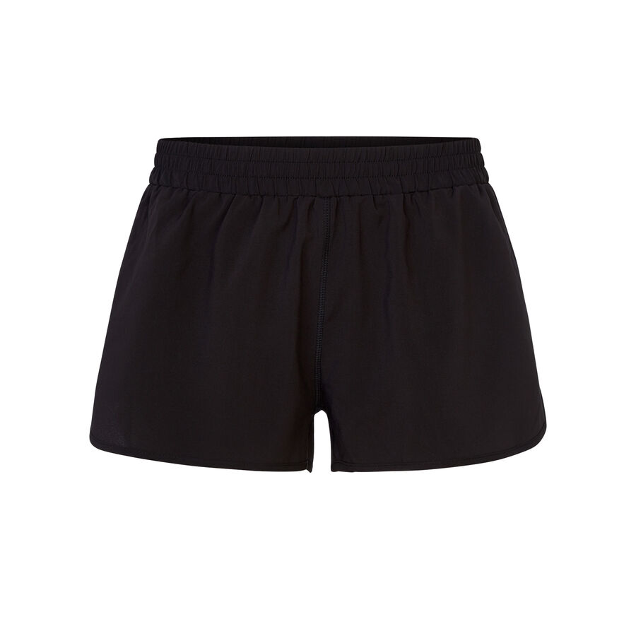 Marooniz black athletic shorts;${refinementColor}