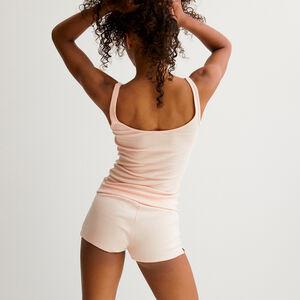 Plain short shorts - pink