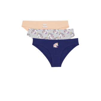 Pair of liconiz underwear szary.