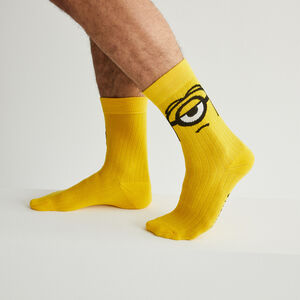 Minions socks - yellow