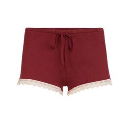 Vitamiz burgundy shorts red.