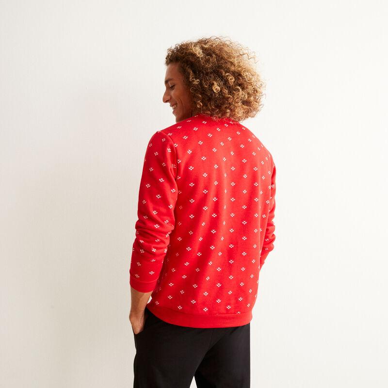 Merry Shrekmas pullover - red;