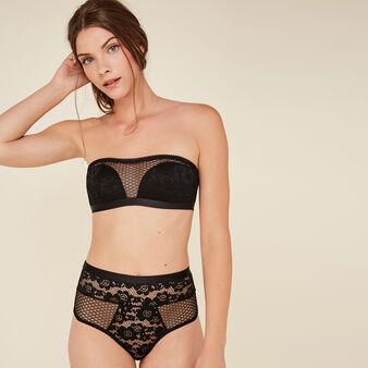 Tymaiz black high-waist briefs black.