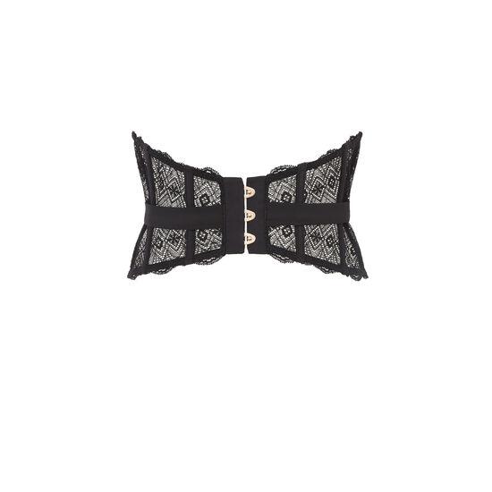 Vanadiniz black waist cincher;
