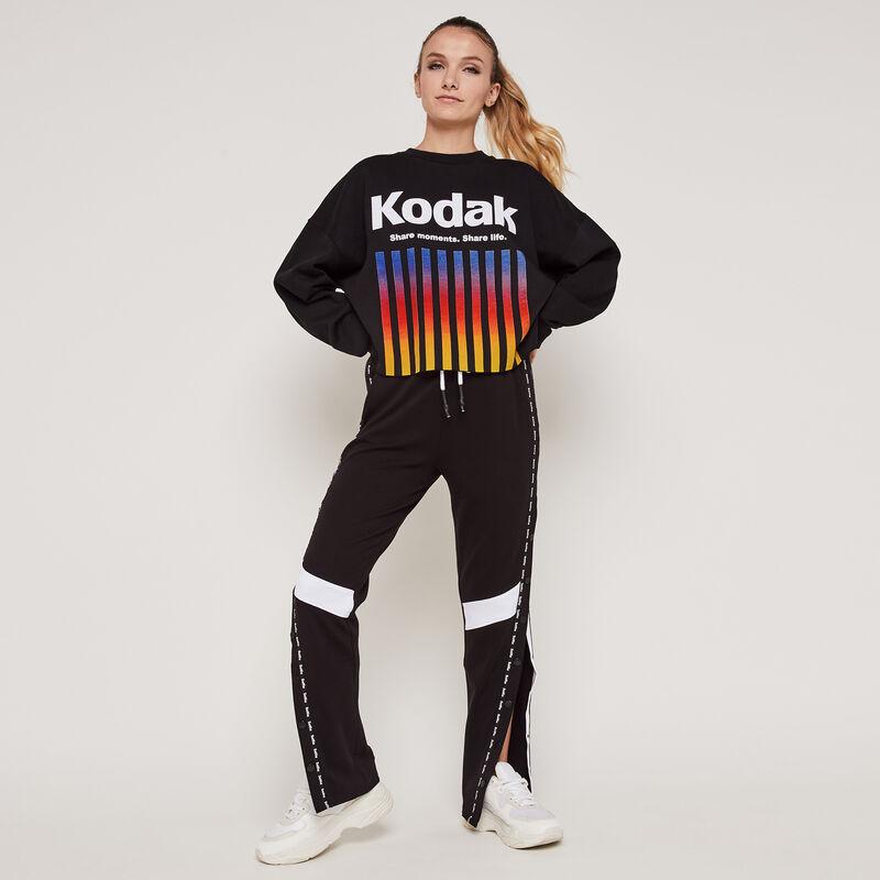 Kodayokiz trousers with side opening;