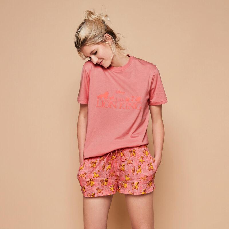 Toplioniz antique pink shorts;