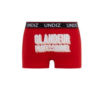 Bóxer rojo glandeurprofiz red.