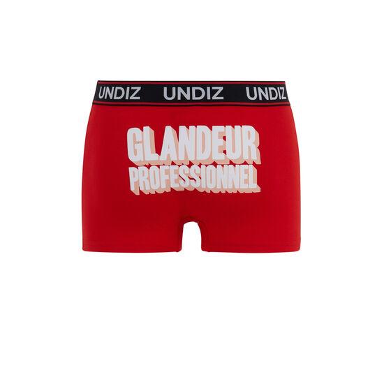 Красные трусы-боксеры glandeurprofiz;