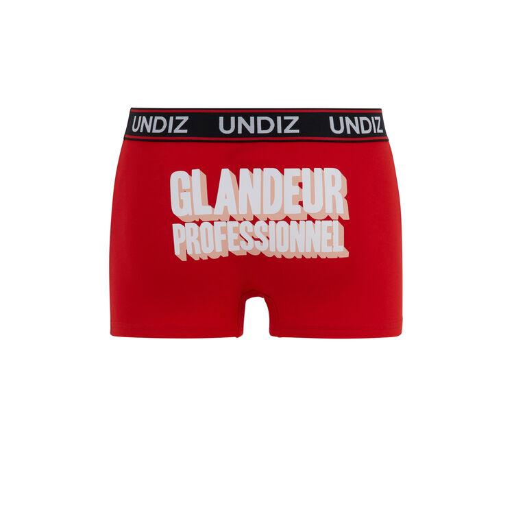 Glandeurprofiz red boxers;