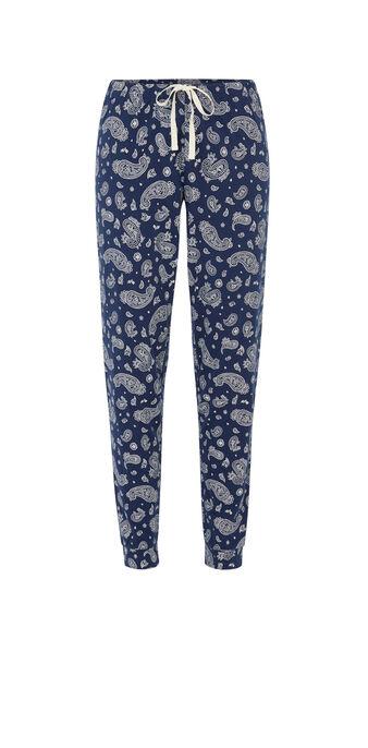 Pantalón de chándal azul bluebaniz blue.