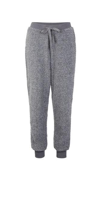 Ribpoiliz grey trousers grey.
