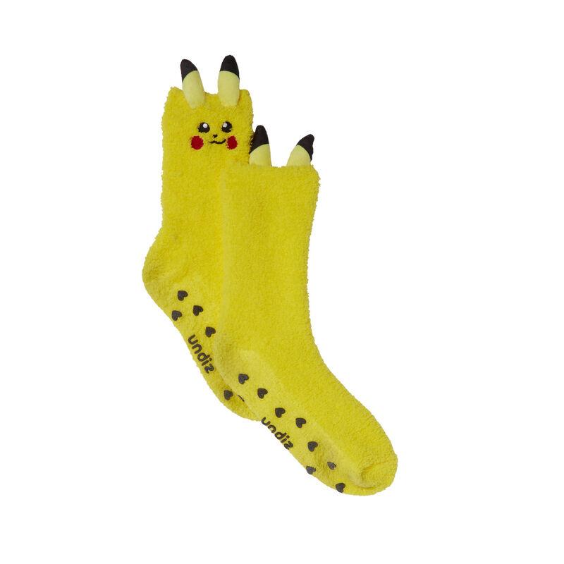 Pikachu socks - yellow;