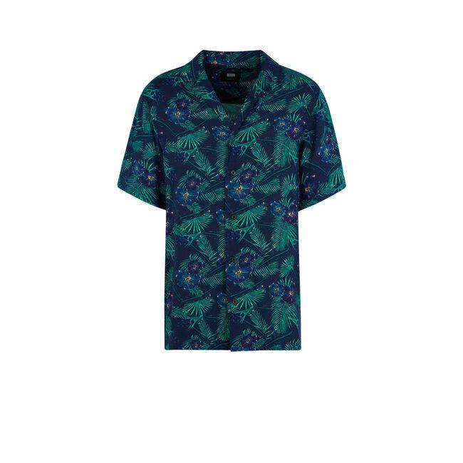 Camisagriz navy blue shirt;