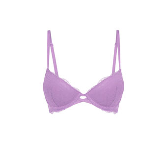 Jagodowy biustonosz push-up everydayiz purple.