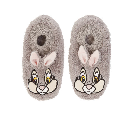Lapiliz grey slippers;