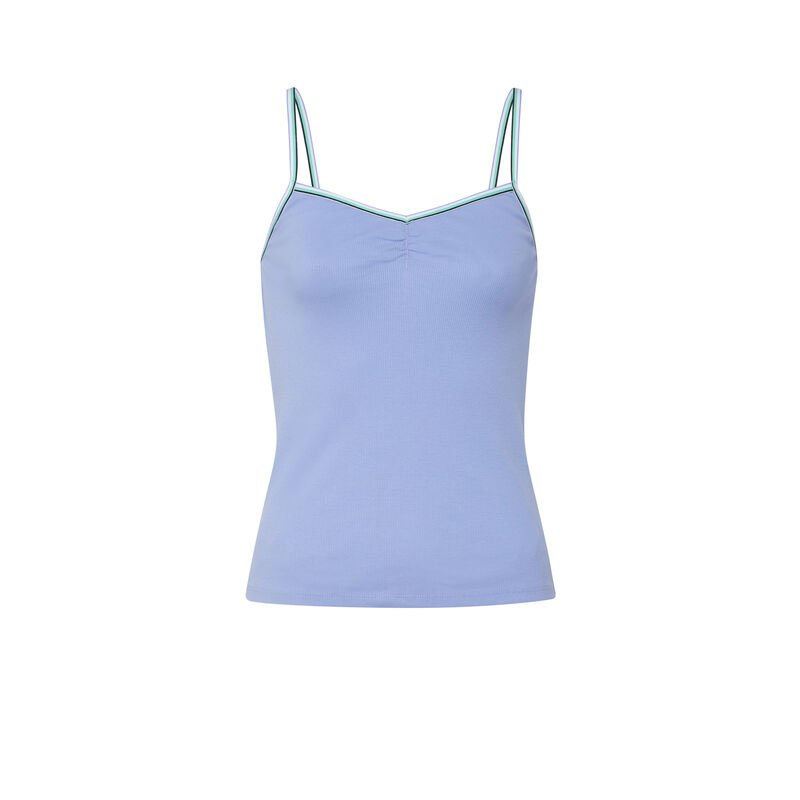 Camisole + shorts set - sky blue ;