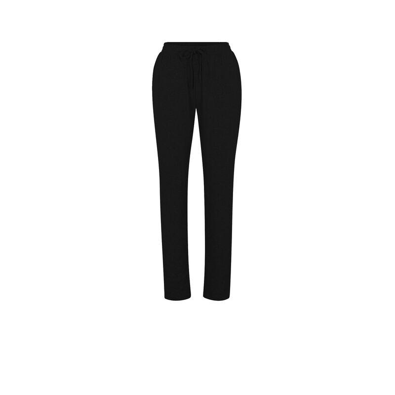 брюки из джерси - черный ;