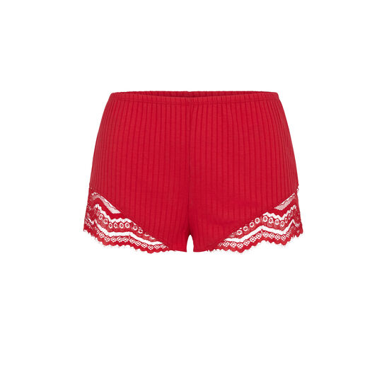 Cupiz red shorts;