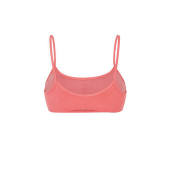 Розовый верх купальника бралетт sifnosiz pink.