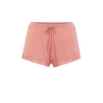 Ribiz antique pink shorts różowy.