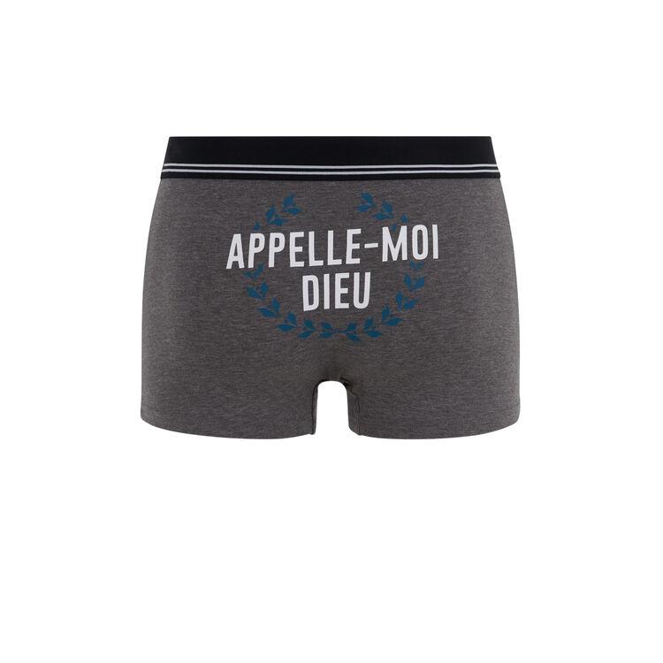 Callmegodiz grey boxers;